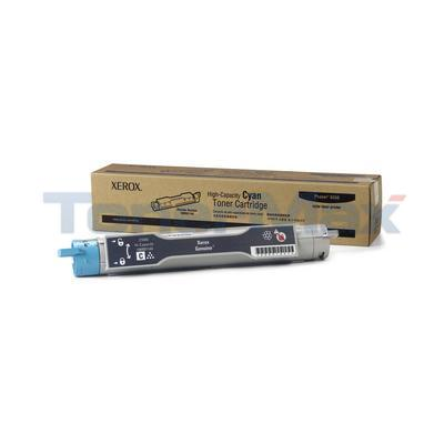 XEROX PHASER 6350 TONER CARTRIDGE CYAN 10K